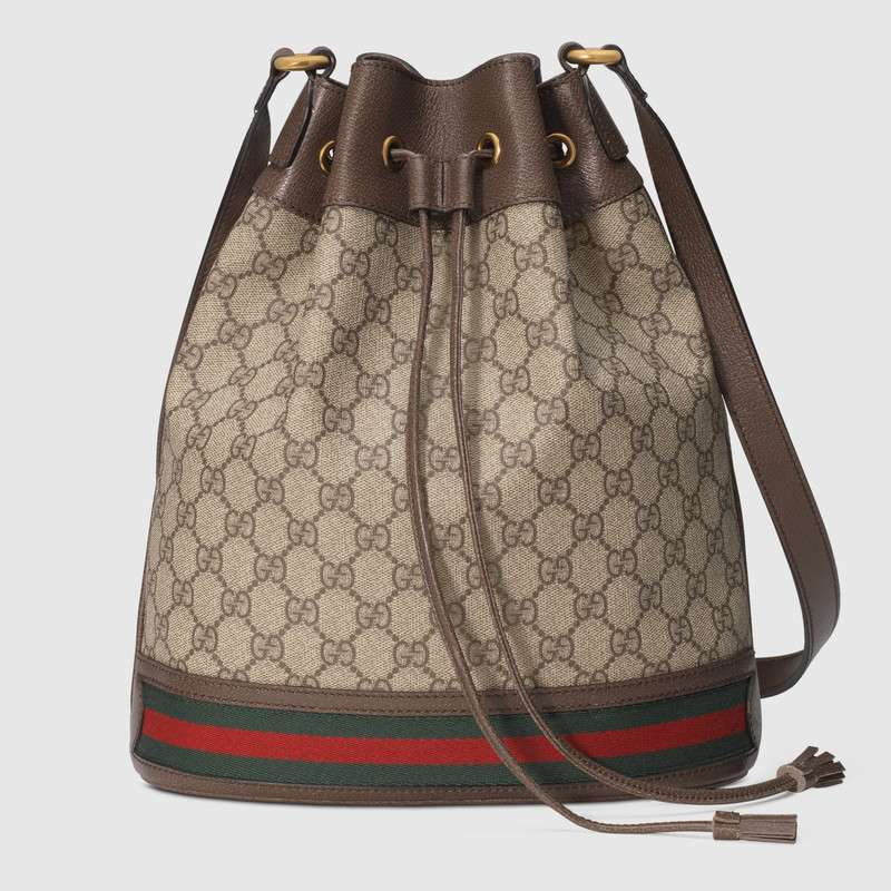 Gucci GG canvas Shoulder Bag 540457 brown