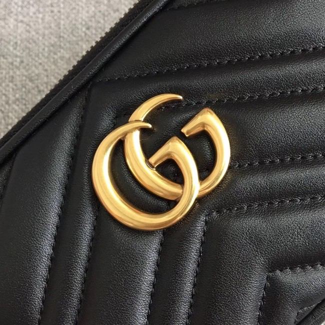 Gucci GG Marmont mini chain bag 546581 black