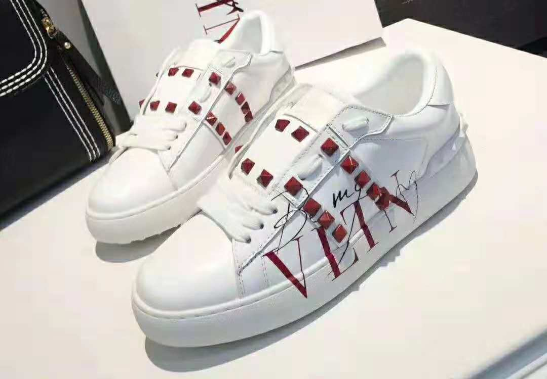 Valentino lady Casual shoes VT978LD White&Red