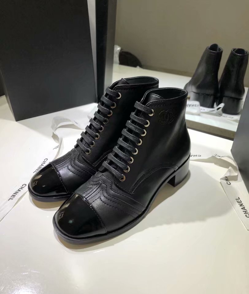 Chanel Shoes CH2442MG Black