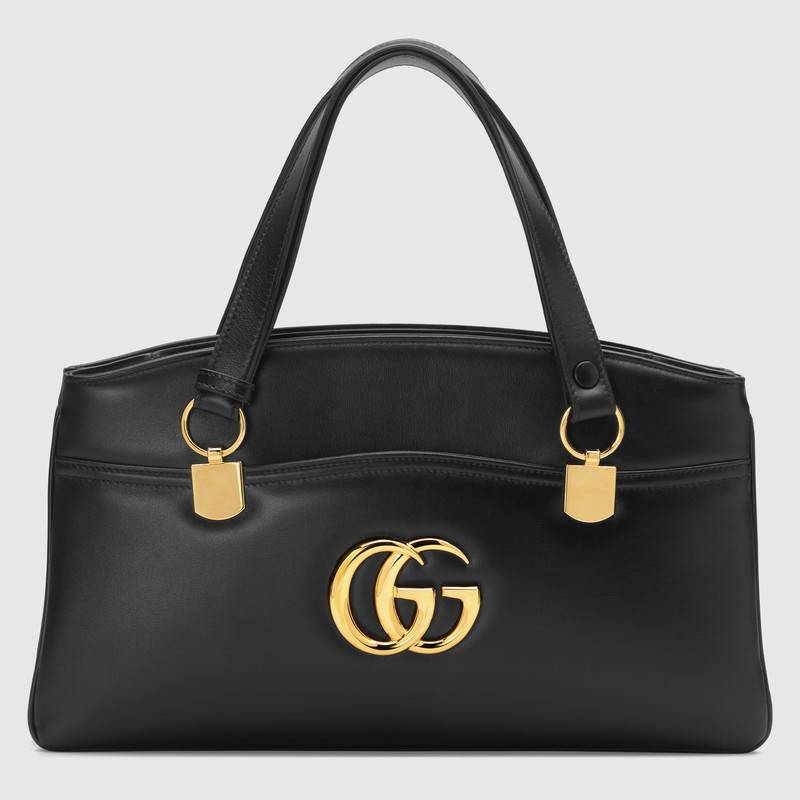 Gucci Arli large top handle bag 550130 black