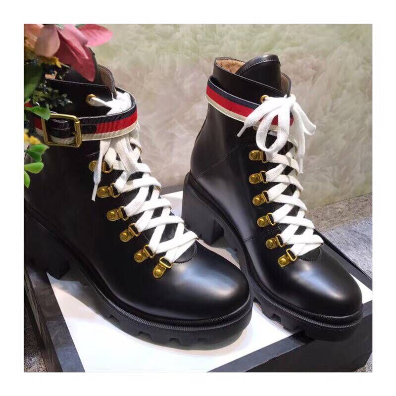 Gucci Shoes Original Leathe 181117 Black