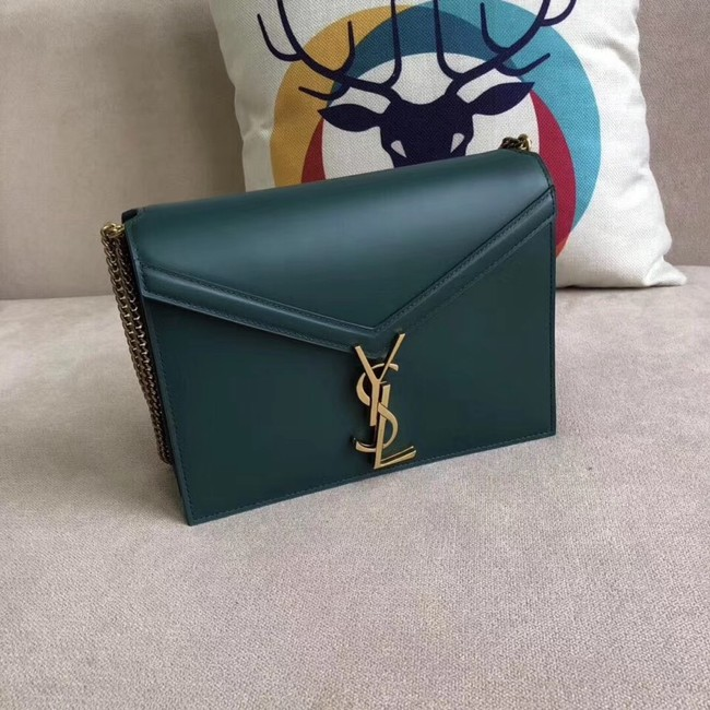 SAINT LAURENT Cassandra shoulder bag 96156 green