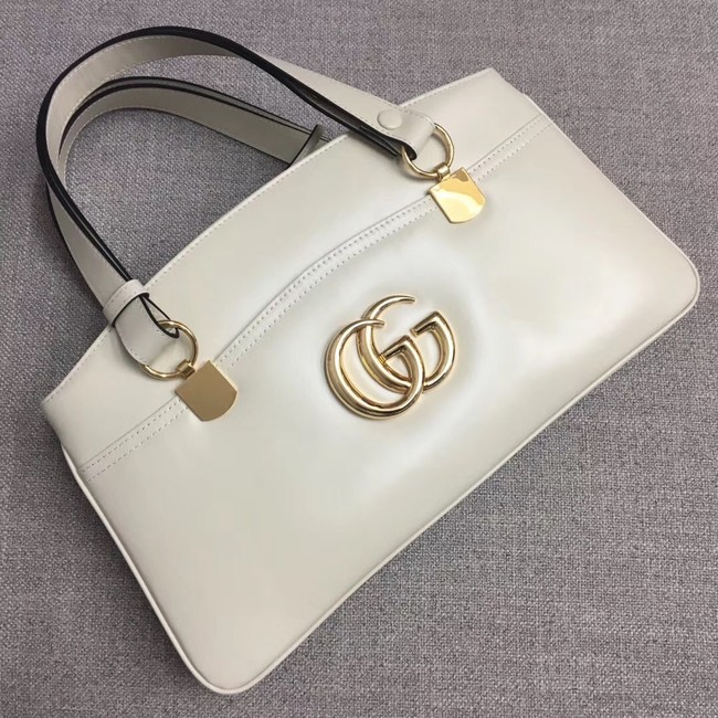 Gucci Arli large top handle bag 550130 white