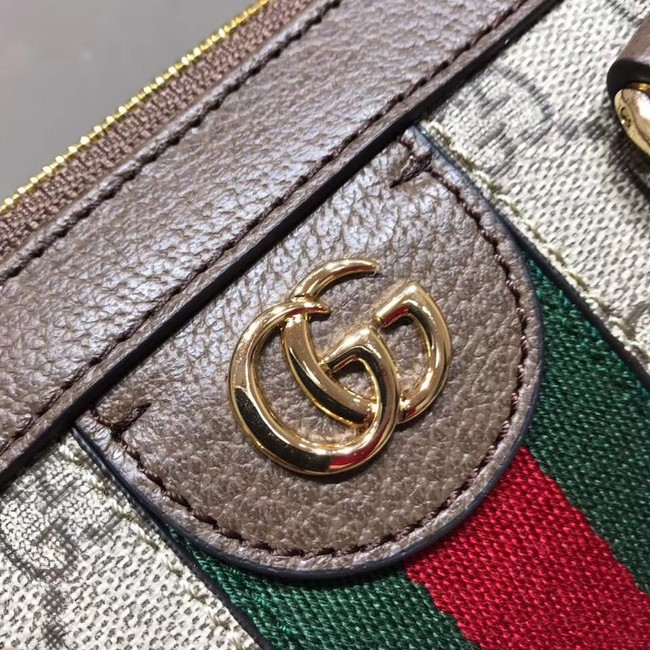 Gucci Ophidia small GG tote bag 547551 brown