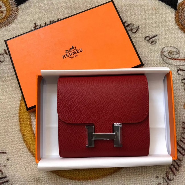 Hermes Constance Wallets espom leather H2297 fuchsia
