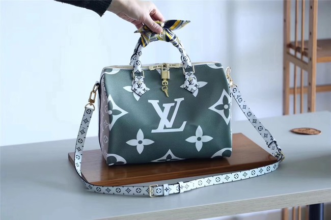 Louis Vuitton Monogram Canvas Speedy 30 M40391 green