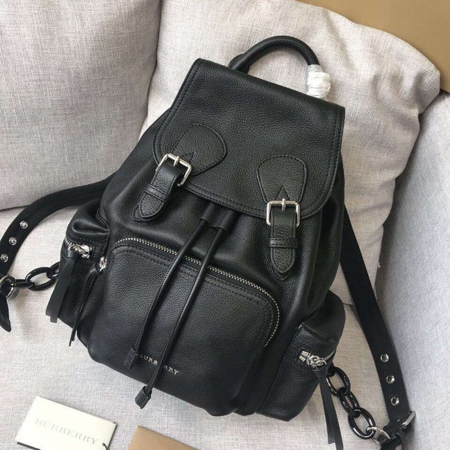 BURBERRY Leather backpack 48791 black
