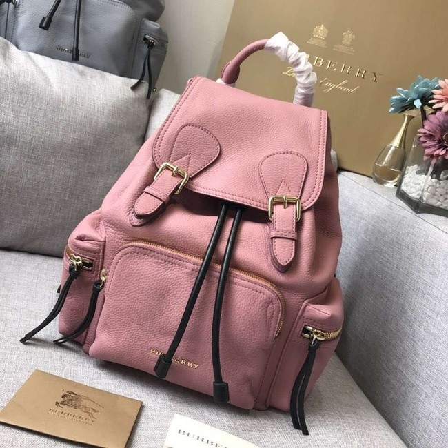 BURBERRY Leather backpack 48791 pink