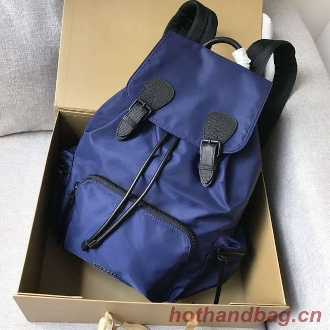 BURBERRY nylon backpack 48791 blue