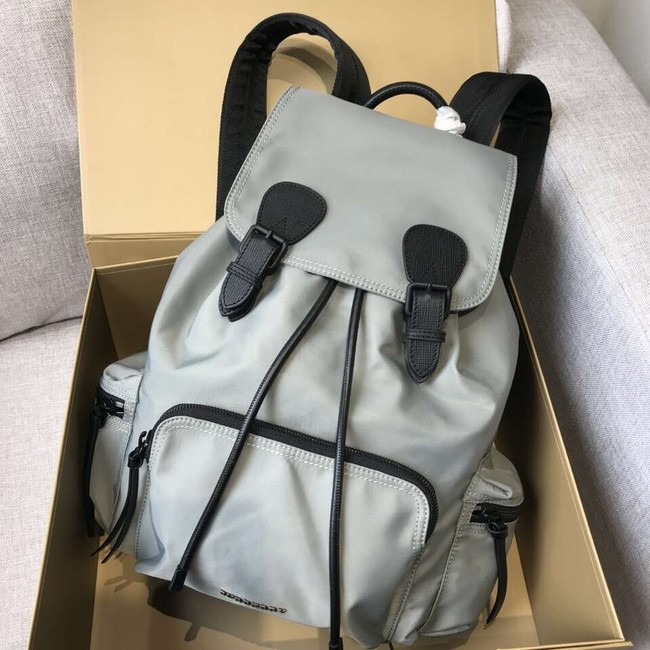 BURBERRY nylon backpack 48791 grey