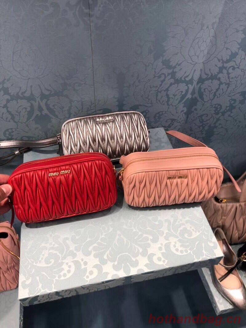 miu miu Original Leather Belt  Bag 5BD017