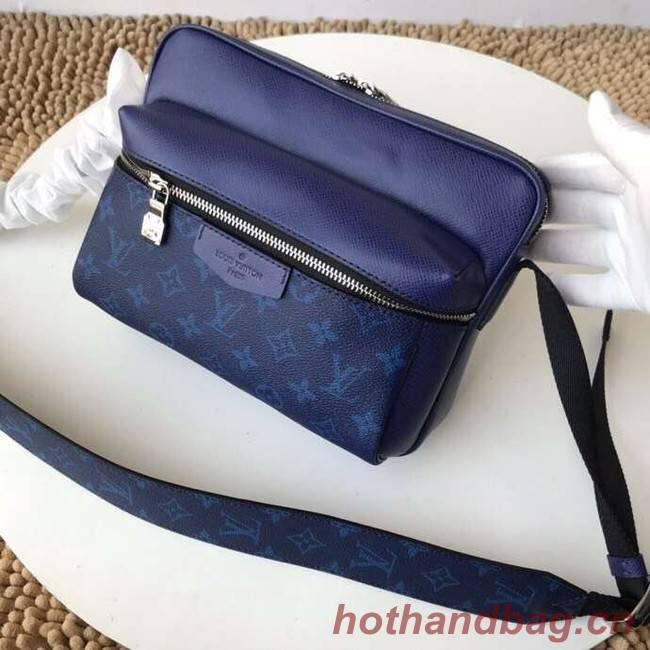 Louis Vuitton Monogram Canvas Messenger PM M43845 blue