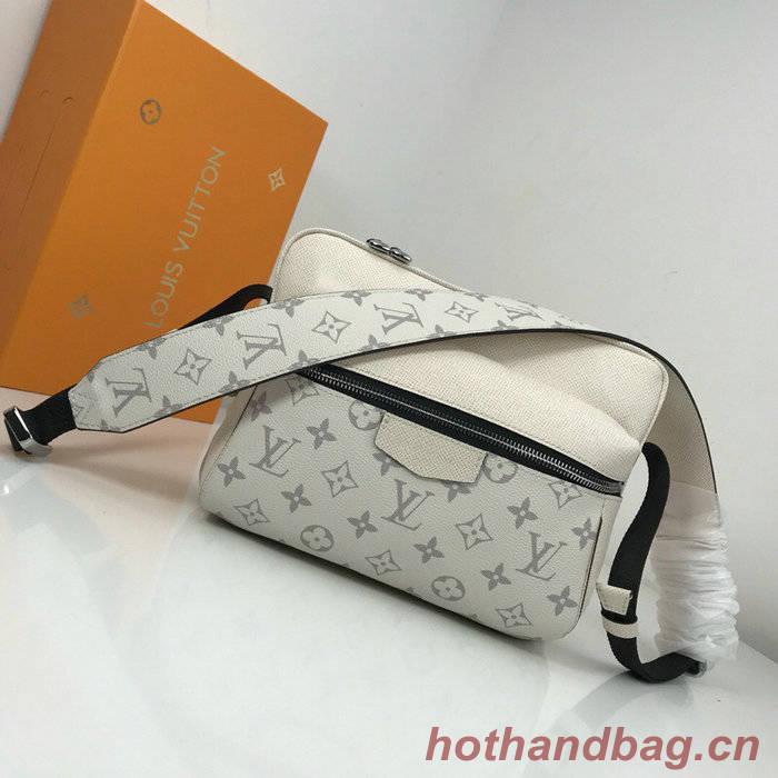 Louis Vuitton Monogram Canvas Messenger PM White M43845