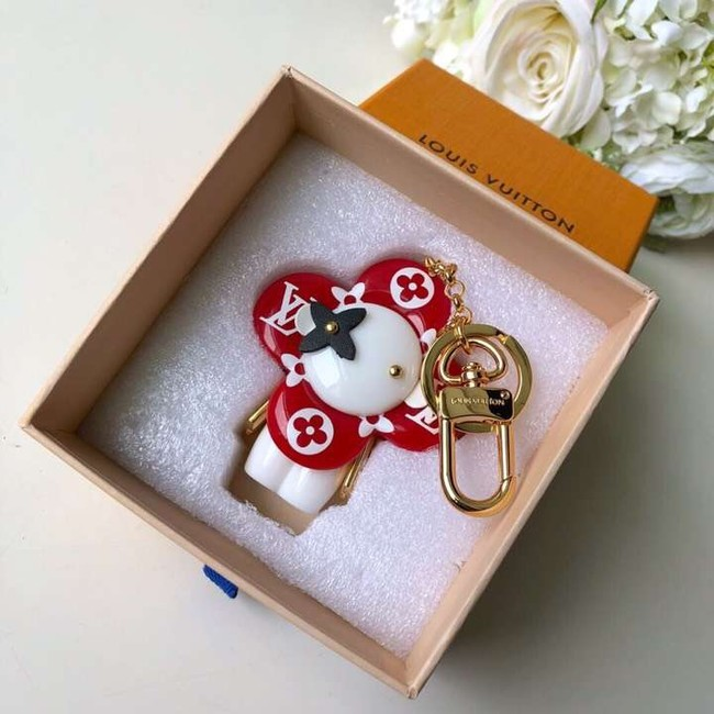 Louis vuitton VIVIENNE BAG CHARM AND KEY HOLDER M63078 red