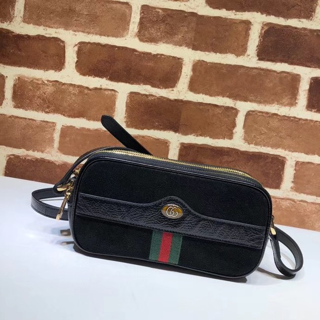 Gucci Ophidia mini GG bag 546597 black velvet