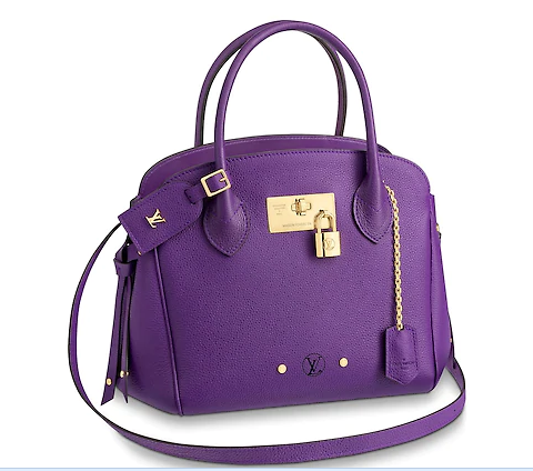 Louis vuitton original calfskin M54346 purple