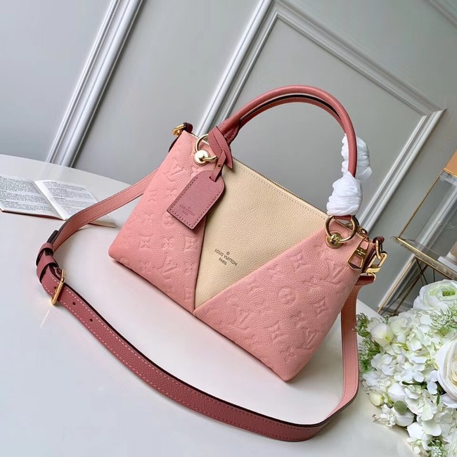 Louis vuitton original V TOTE BB M53886 Pink&beige
