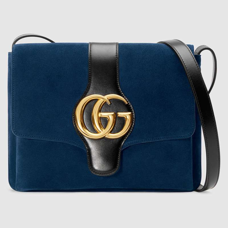 Gucci Arli medium shoulder bag 550126 Dark blue