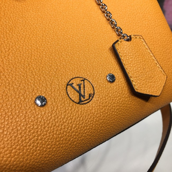 Louis Vuitton Veau Nuage Leather Milla MILLA PM M54347 Safran Yellow