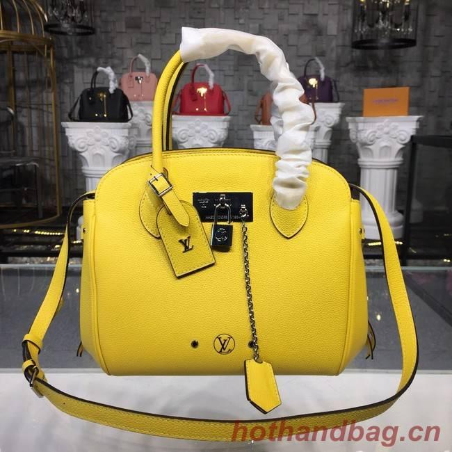 Louis Vuitton Veau Nuage Leather Milla MILLA PM M54347 Vert Acide Green