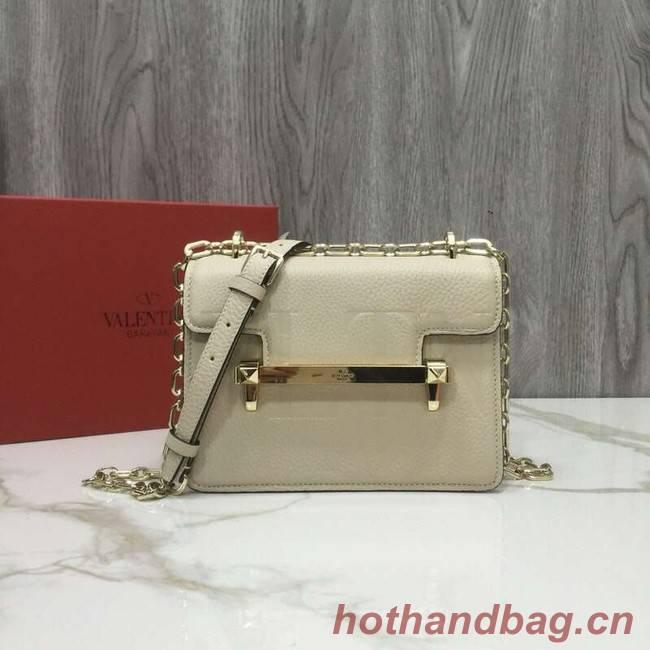 VALENTINO Uptown shoulder bag 3196 creamy-white