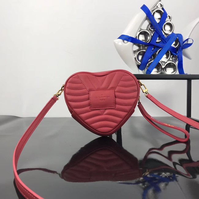 Louis Vuitton HEART BAG NEW WAVE M52796 red