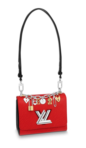 Louis Vuitton TWIST MM M52894 red
