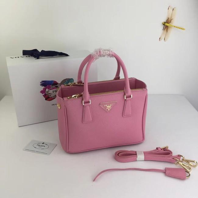 Prada Galleria Small Saffiano Leather Bag BN2316 pink