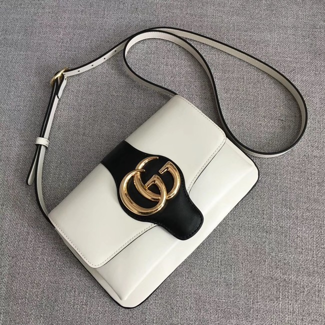 Gucci Arli small shoulder bag 550129 White&black