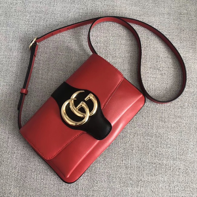 Gucci Arli small shoulder bag 550129 red&black
