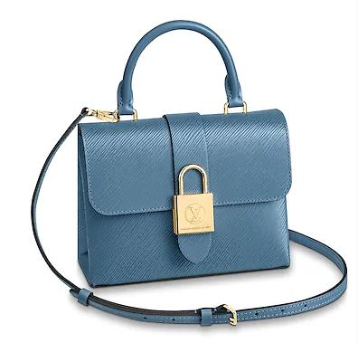 Louis Vuitton LOCKY BB M53159 Bleu Jean