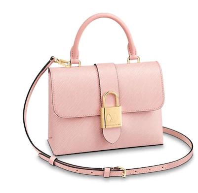 Louis Vuitton LOCKY BB M53159 Rose Ballerine