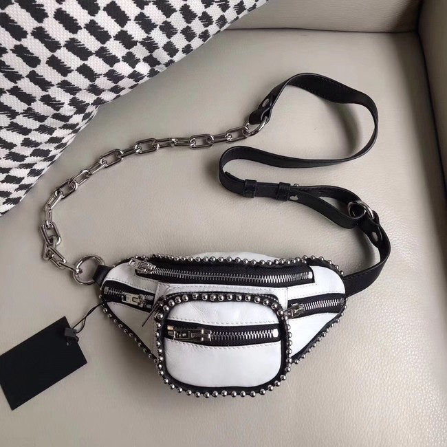 Alexander Wang leather Mini-pocket 0002 white
