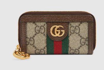 Gucci Ophidia GG key case 523157 brown