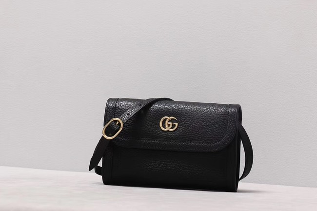 Gucci GG Marmont small shoulder bag 497984 black
