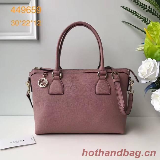 Gucci GG Classic Tote Bag 449659 pink
