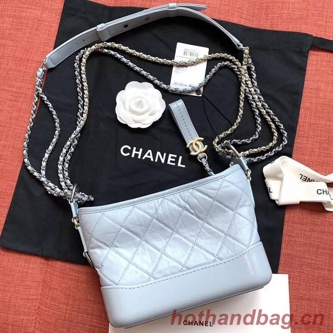 Chanel gabrielle small hobo bag A91810 light blue