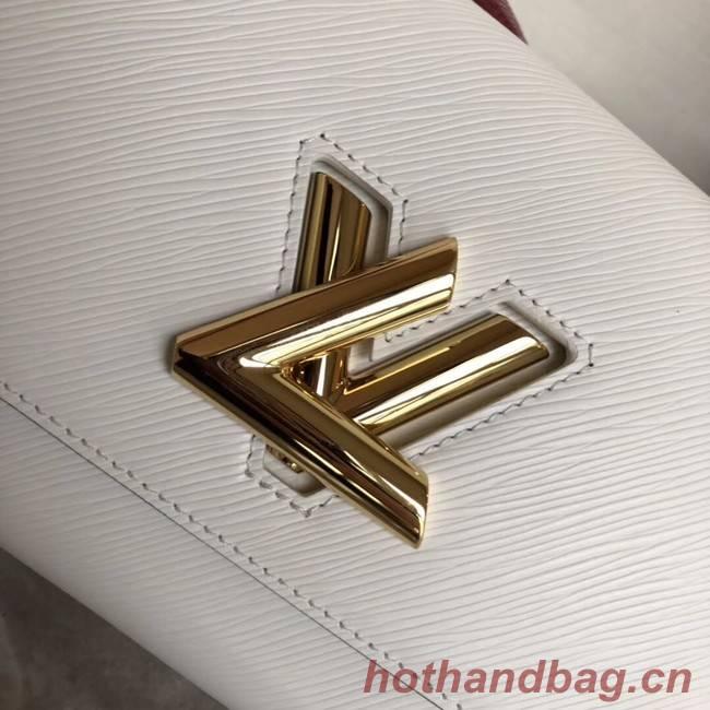 Louis vuitton original TWIST MM M53596 Blanc