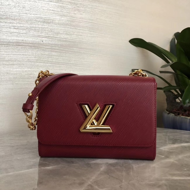 Louis vuitton original TWIST MM M53597 Bordeaux