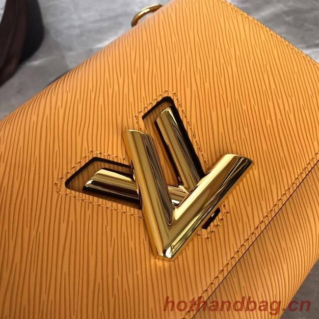 Louis vuitton original TWIST MM M53597 yellow