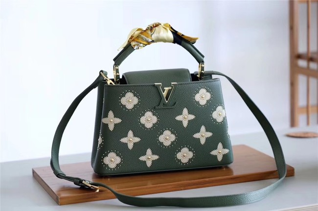 Louis vuitton CAPUCINES BB M48865 green