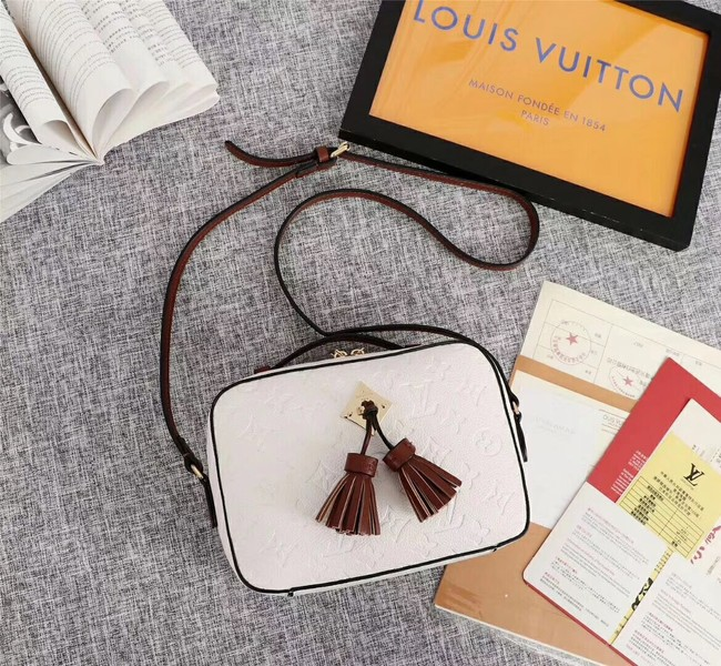Louis vuitton mongram empreinte SAINTONGE M44593 Cream