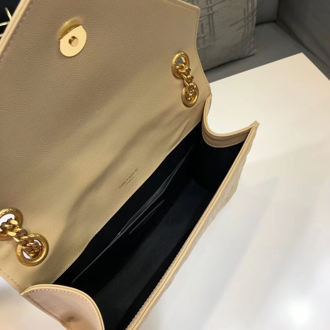 SAINT LAURENT Medium satchel 487206 apricot