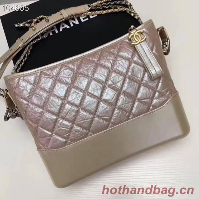 Chanel gabrielle hobo bag A93824 dark pink