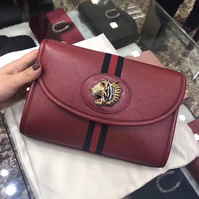 Gucci GG Marmont small shoulder bag 570145 Wine