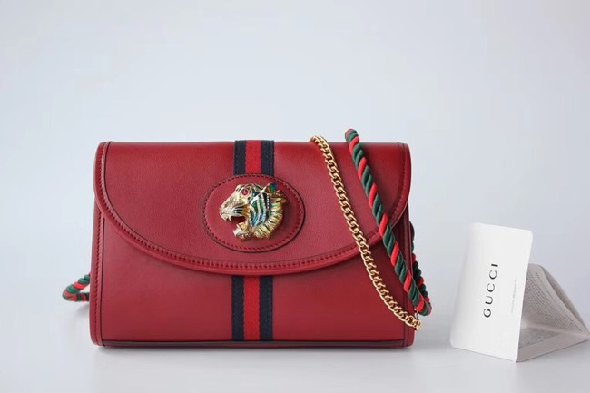 Gucci GG Marmont small shoulder bag 570145 red