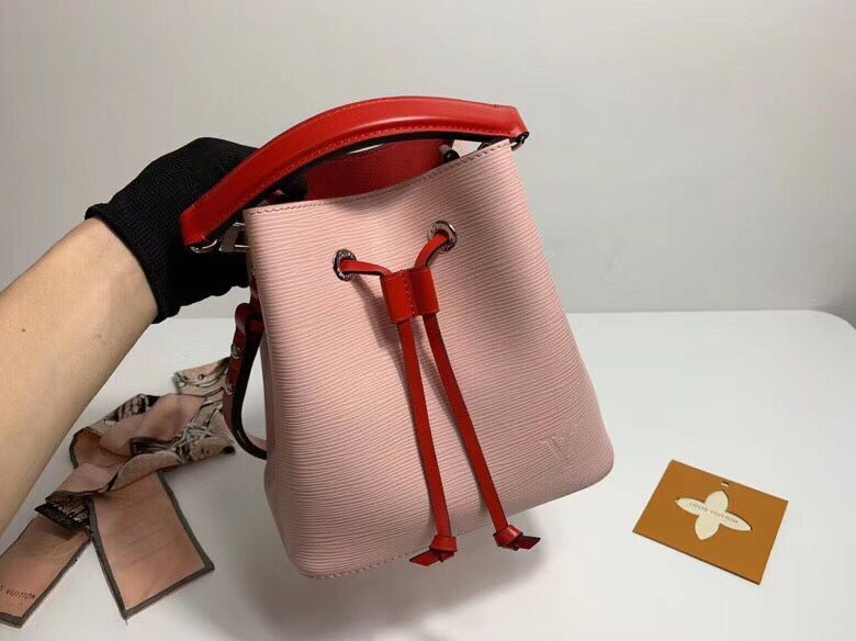 Louis Vuitton Original Epi Leather Neonoe BB Bag M53612 Pink