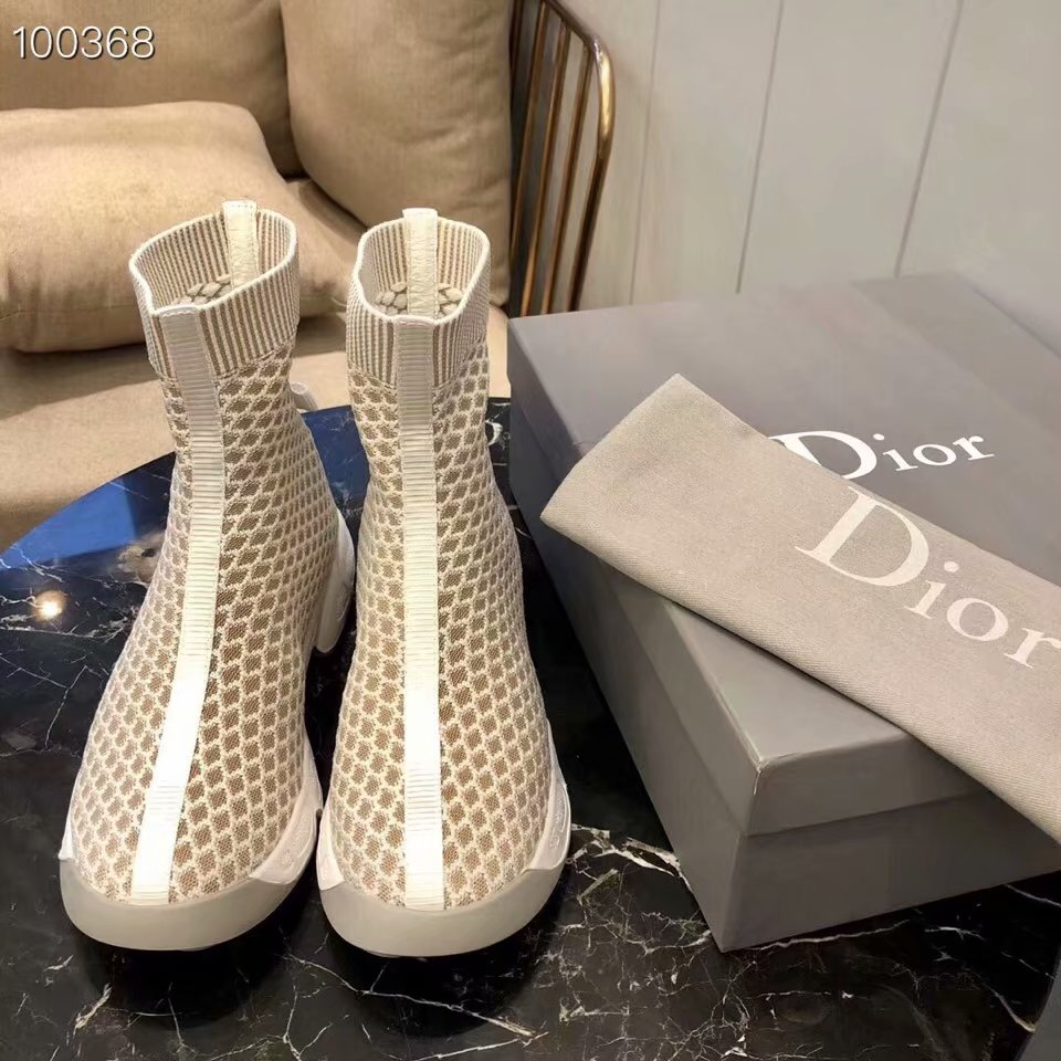 Dior Stretch textile Extra-supple rubber outsole RANGER Dior616DOC-3