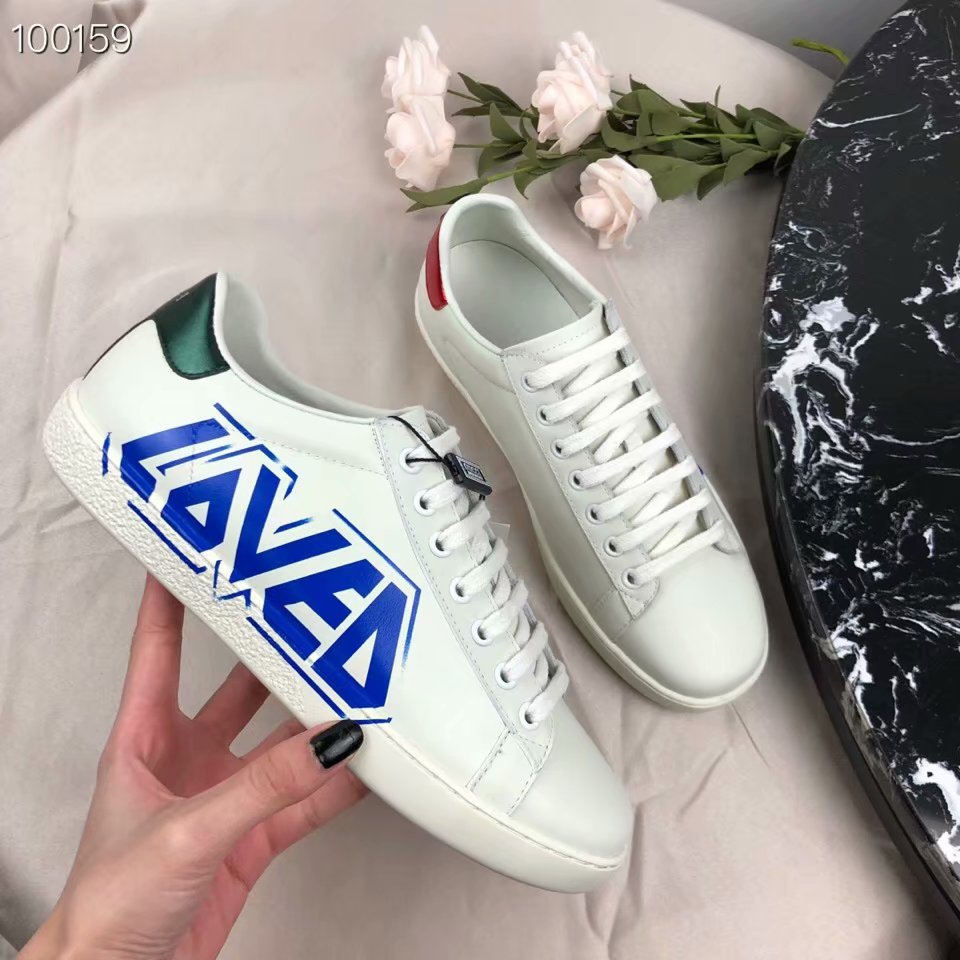 Gucci embroidered sneaker GG1458H-2